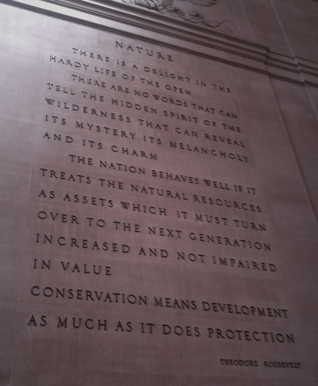 Teddy Roosevelt Quotes American Museum Of Natural History