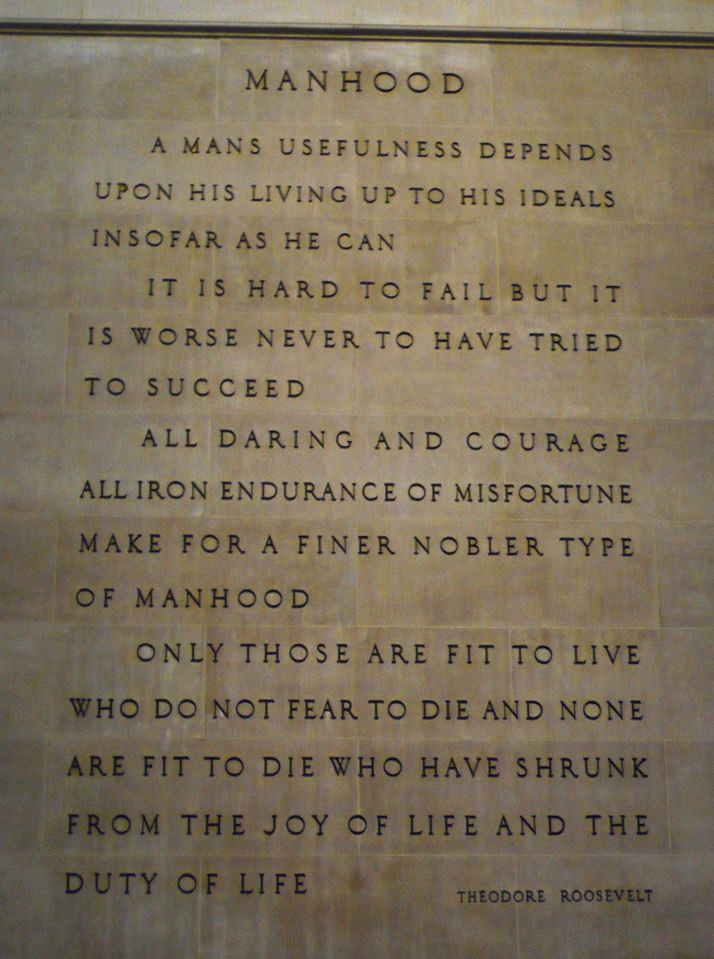 Roosevelt Quotes Museum Of Natural History