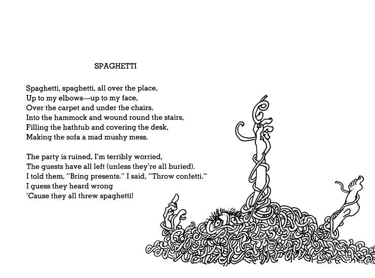 Shel Silverstein Famous Poems: Bedside Table Books