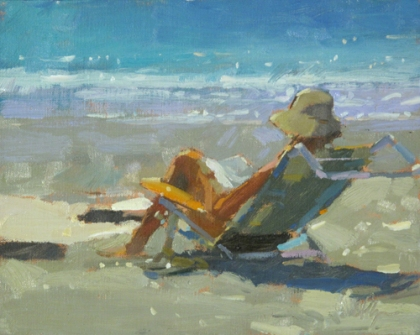 Beach Reading by Colin Page