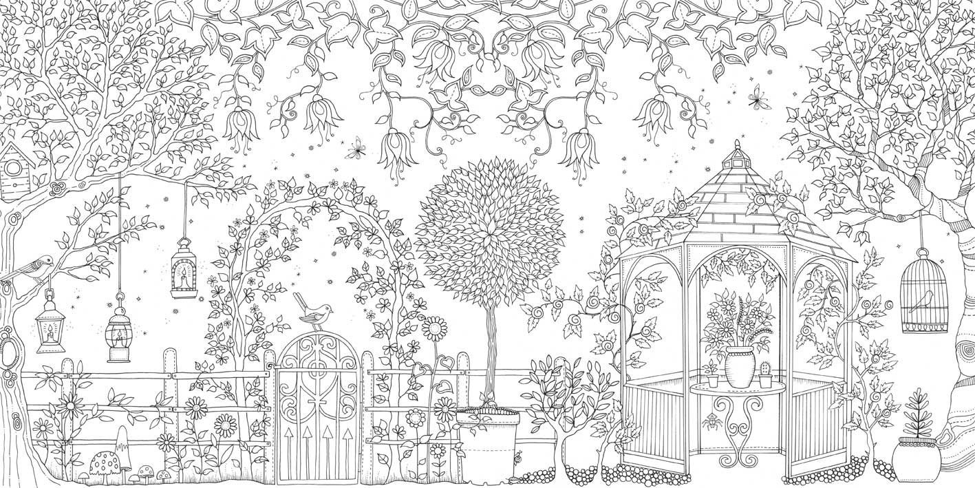 colouring books for adults Bedside